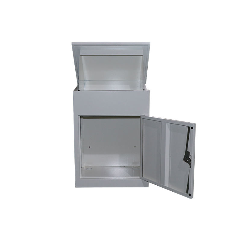 Home Outdoor Package Stainless Steel Metal Large Smart Parcel Delivery Drop Post Mail Letter Box