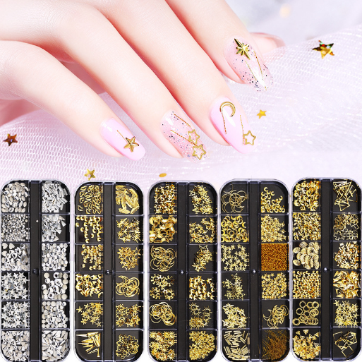 Wholesale Crystal Nail Art Rhinestones Acrylic Nail Stones DIY Non Hotfix Flatback For 3D Nails Art Decorations