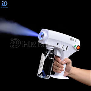 Handheld Portable Nano Fogging Spray Gun 260ml Disinfection Automatic Atomizing Mist Machine Sprayer