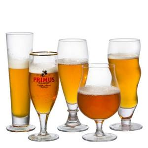 Wholesale Cheap Bar Glassware Double Sided Drinking Beer Glass Cup Beer Steins Beer Glass