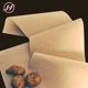 Wholesale kraft brown greaseproof brown coated base paper for hot dog