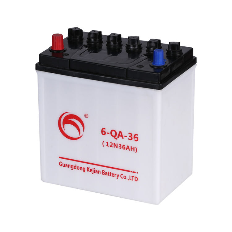 Guangdong Kejian Made in China Manufacturer Lead Acid Dry Charge 12V 36AH Car Battery