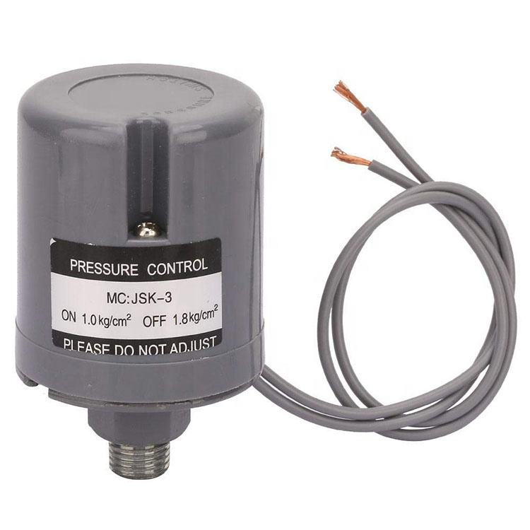"3/8 "" Round Adjustable Mini Automatic Water Pump Controller Pressure Switch"