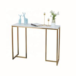 2020 trend console table gold ti marble entrance table