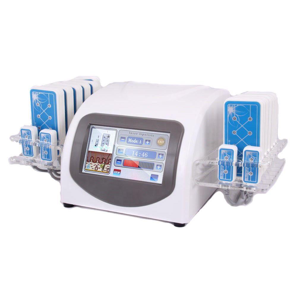 new product 16 Paddles Diode Lipo Lipolaser Laser Enhanced Edition Lllt Fat Reduce Slimming Machine