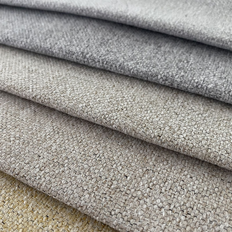 Polyester Copy-linen Fabric For Sofa