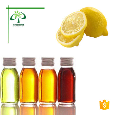 Natural lemon flavor and fragrance oil lemon fragrance for detergent