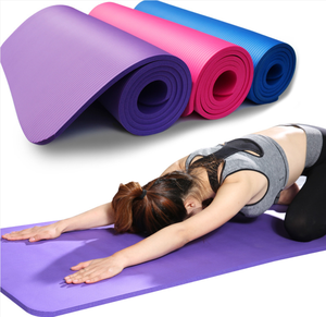 Customized thick gym exercise training pilates Gymnastics mat fitness NBR yoga mat