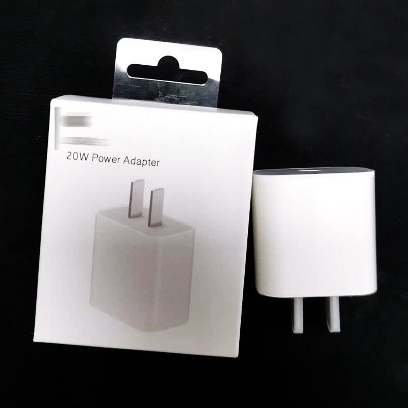 20W PD USB Type C Quick Charger Adapter For iPhone 12 11 Pro XR X Xs Max 8 Fast Charging EU US UK AU Plug Travel PD charger port