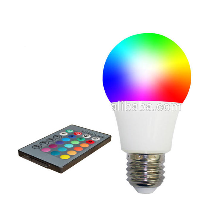 <span class=keywords><strong>E27</strong></span> Rgb Led Kleur Lampen Led Lamp Thuis 3W 5W 7W <span class=keywords><strong>B22</strong></span> Afstandsbediening Elektrische Lamp Led lamp Licht