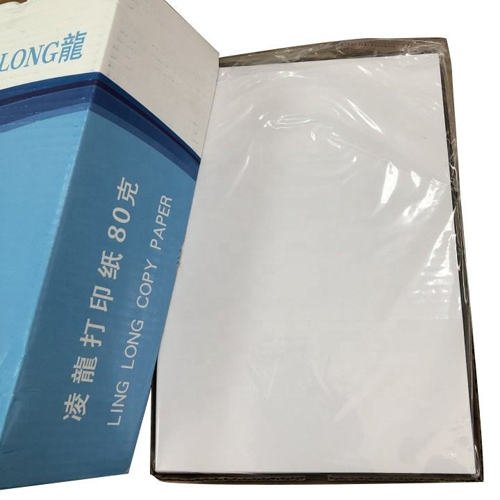 A4 bisector paper 80 gsm copy paper 70 gsm For Copiper Laser Printing
