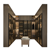 Factory Customized made wardrobe designs for Dressing Room