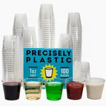 Wholesale premium 1oz 2oz 3oz 30ml shot glasses clear juice communion disposable plastic cups