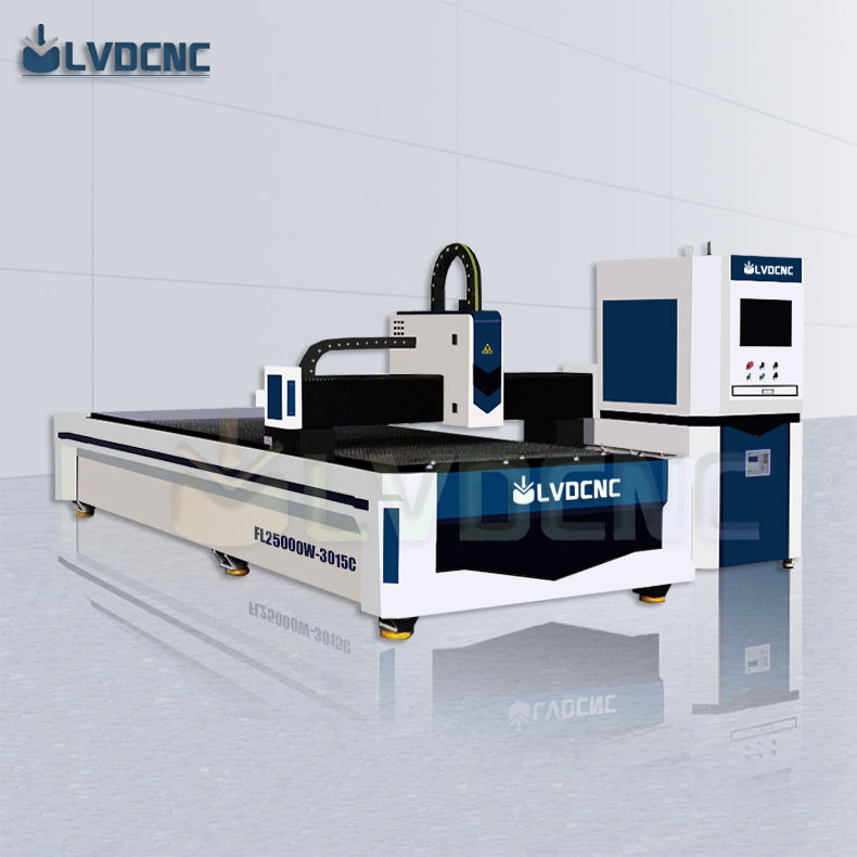 Hot products 25000w laser fabric cutting machine sheet metal