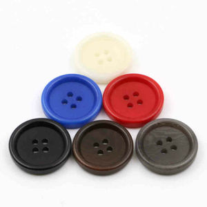 4 Hole Custom Natural White Eco Friendly Good Quality Corozo Button