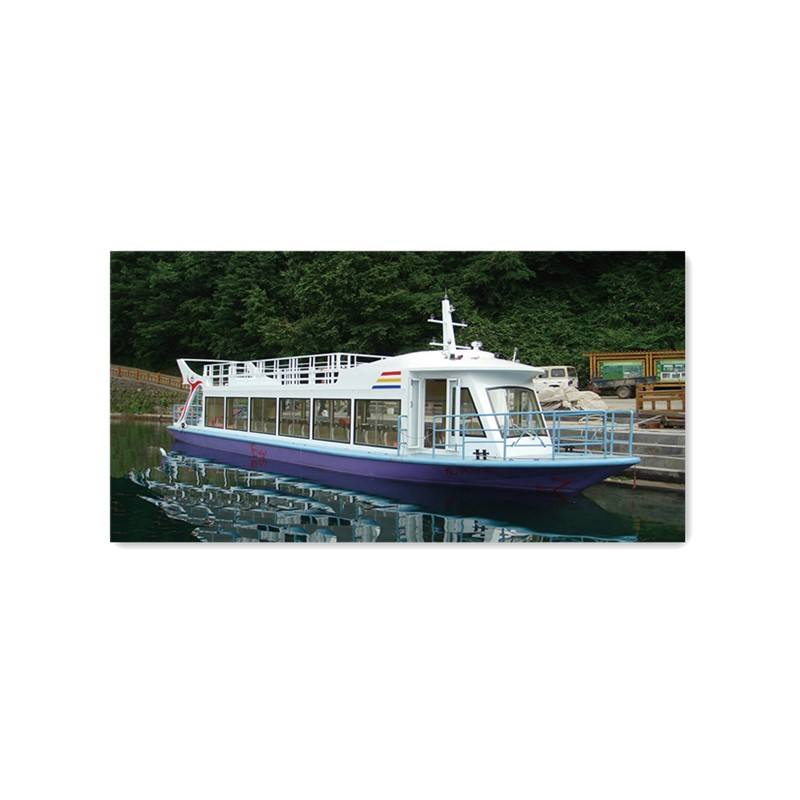 Grandsea 17m Steel 60 persons Diesel Inboard River Ferry Sightseeing Boat for sale