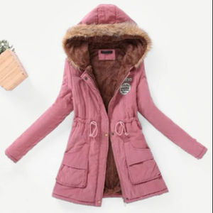 Wholesale Hot sale brand good quality stock clothes lady's coat