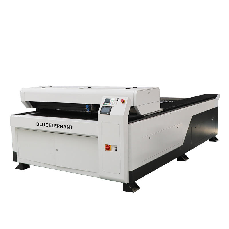 Widely used co2 metal laser cutting machine for sheet metal and advertising industry