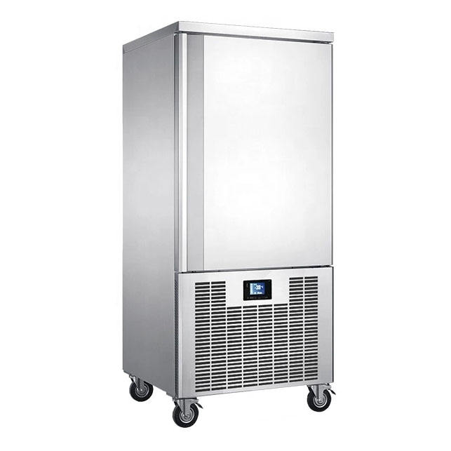 CE ETL 15 trays Piper servolift storage blast chiller shock freezer /blast freezer/blast chiller for gelato