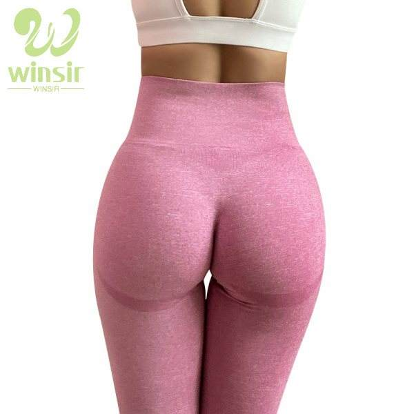 Wholesale Contour Nylon Womens Mesh Workout Fitness Gym Sports Yoga Wear Tights Pants leggins High Waisted Seamless Leggings