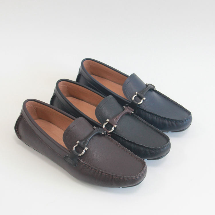 Wholesale High Quality Customize Men Loafer Shoes Suede and Rubber Loafer Shoes