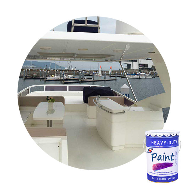 Best white coating choose sea water resistance polyurethane topcoat paint on ship deck