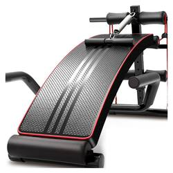 Supine board abdominal crunch board physical exercise indoor