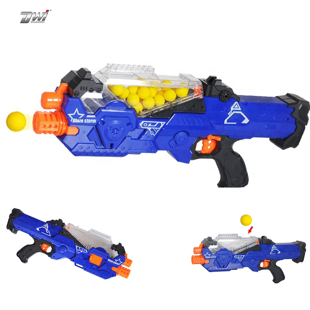 Multifunctional Electric B/O Factory Shock Squeezable PU Soft Ball Foam Darts Safe Toy Gun for kids