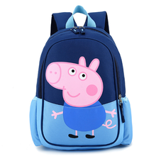 Promotional fashion school waterproof polyester children's backpack bags