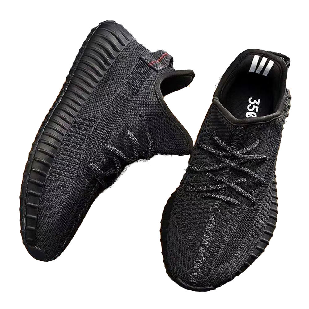 High Quality Fashion Comfort Lace-up Men Sneakers Breathable Sport Shoes Flying Woven Sneakers