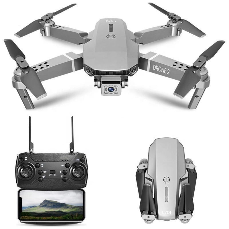 New E68 Wifi Fpv Mini Drone With Wide Angle Hd 4K 1080P Camera Hight Hold Mode Rc Foldable Quadcopter Dron Gift