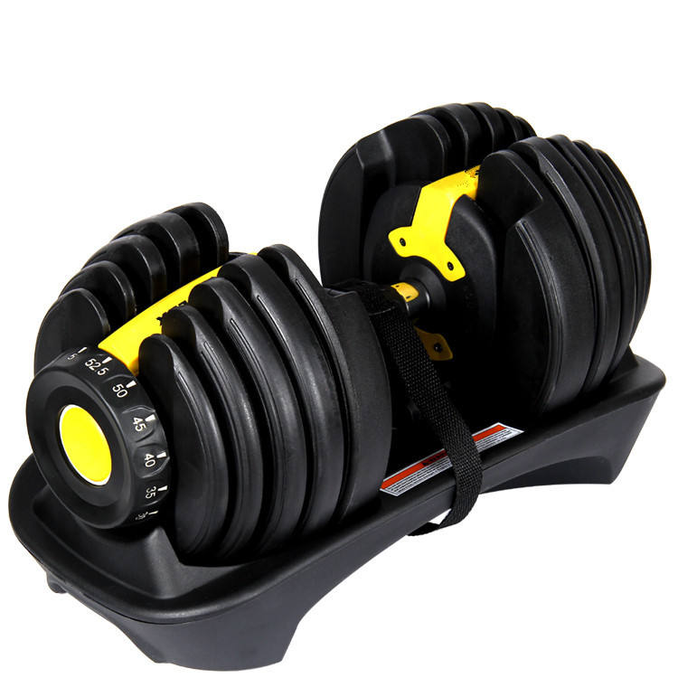 Adjustable Dumbbells 20KG,40KG Weight Lifting Home Gym Fitness Equipment Rubber Cheap Dumbbell Set For Sale