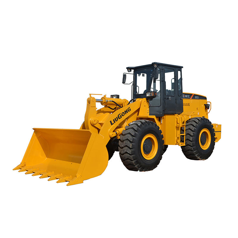 Easy Operating Liugong 5 Ton 855H/CLG855H Tractor Loader With Grapple