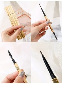 Micro Black professional retractable eyebrow pencil rose gold mini natural high quality eyebrow pencil