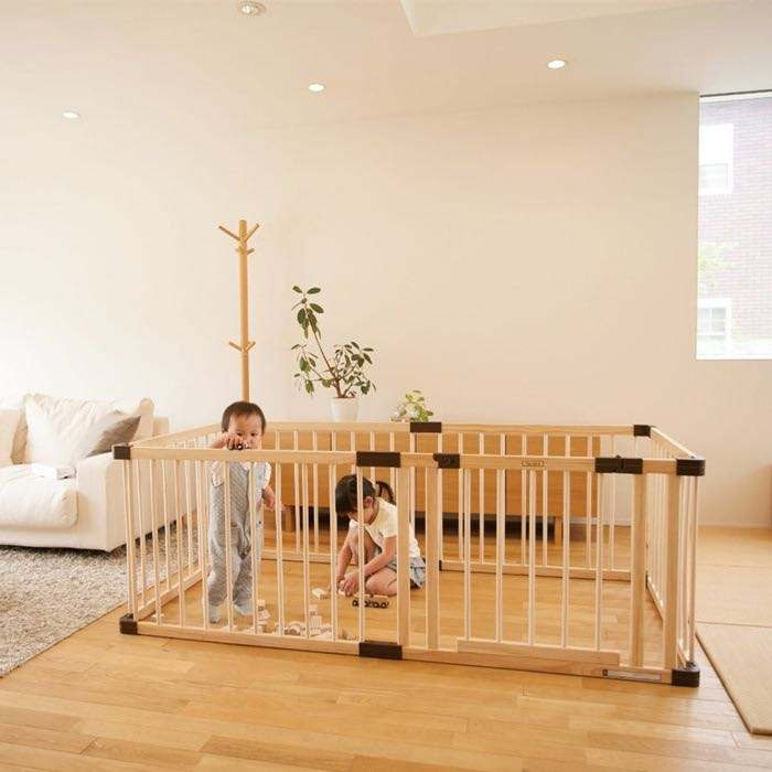 Baby Fence Indoor Crawling Toddler Playpen Portable Playard Play Pen for Infants Babies Kids Safety Play Center Extra Large Yard