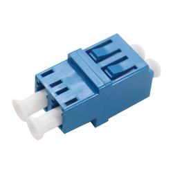 LC to LC Duplex Singlemode Plastic Fiber Optic Adapter
