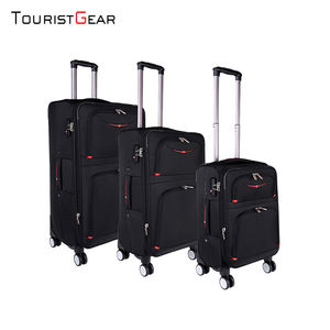 Extra Large sport bags canvas trolley luggage with travel luggage tags soft luggage
