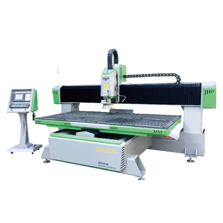 SUDA Professional 7.5KW Water Cooled ATC and Vacuum Table 1325 2040 CNC Router Machine With CE ISO Certificates