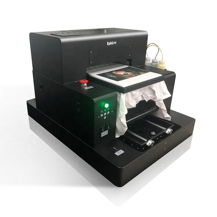 High speed led print color printer 32*50cm 5760DPI*1440DPI a3 pp strap knit fabric uv printing machine in Japan