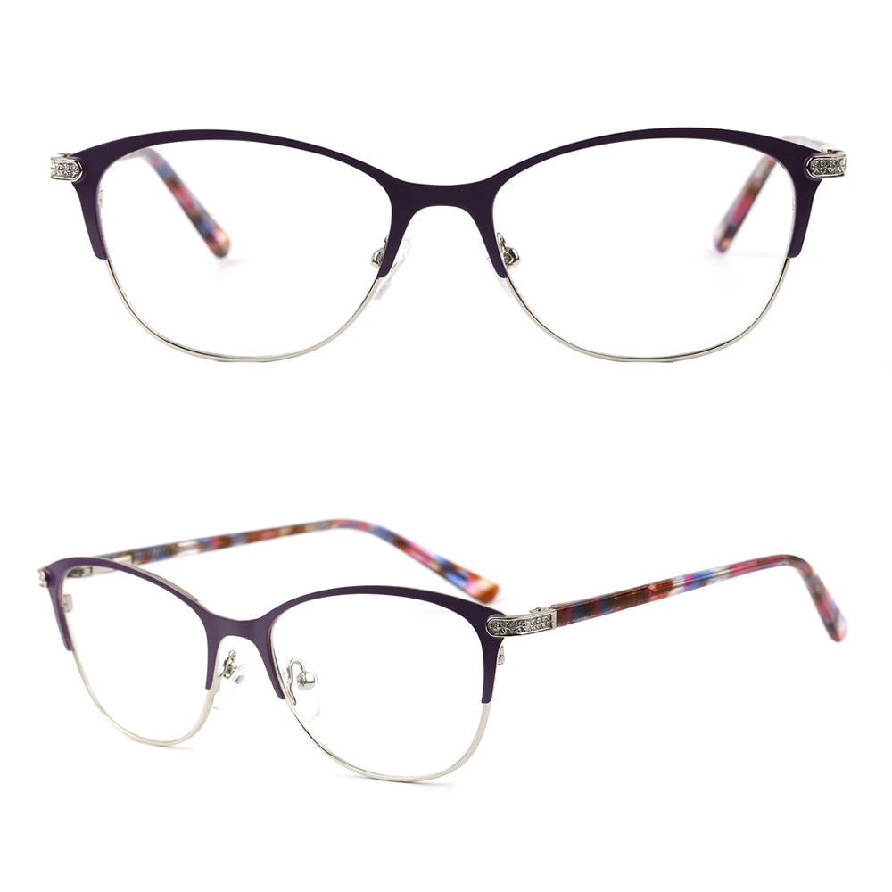 2033X new design ce fda optical metal spectacle frame
