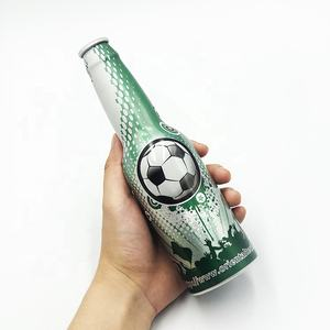 custom aluminum beer bottle for beverage or liquor packaging