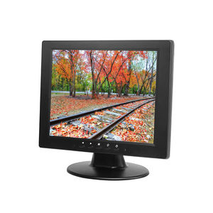 10.4 pollici di Piccola Dimensione Touch Screen Lcd Integrato Piazza Led backlight Desktop Monitor del Pc