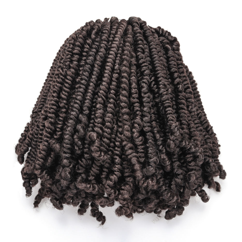 Toyotress Bob Spring pink expression red pre twisted 24 inch water wave braids crochet twists passion twist hair