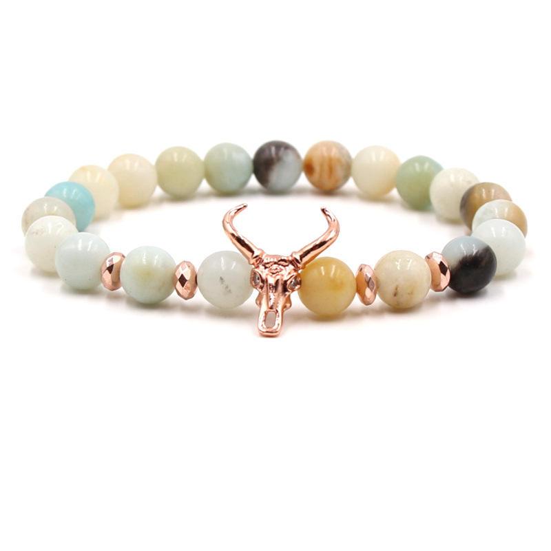 Horn Beaded Bracelet #13978 Wholesale Price