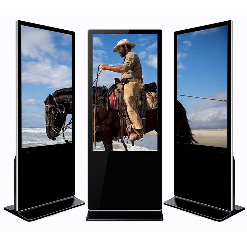 32 inch Floor Standing full HD lcd touch screen advertising player for shopping mall
