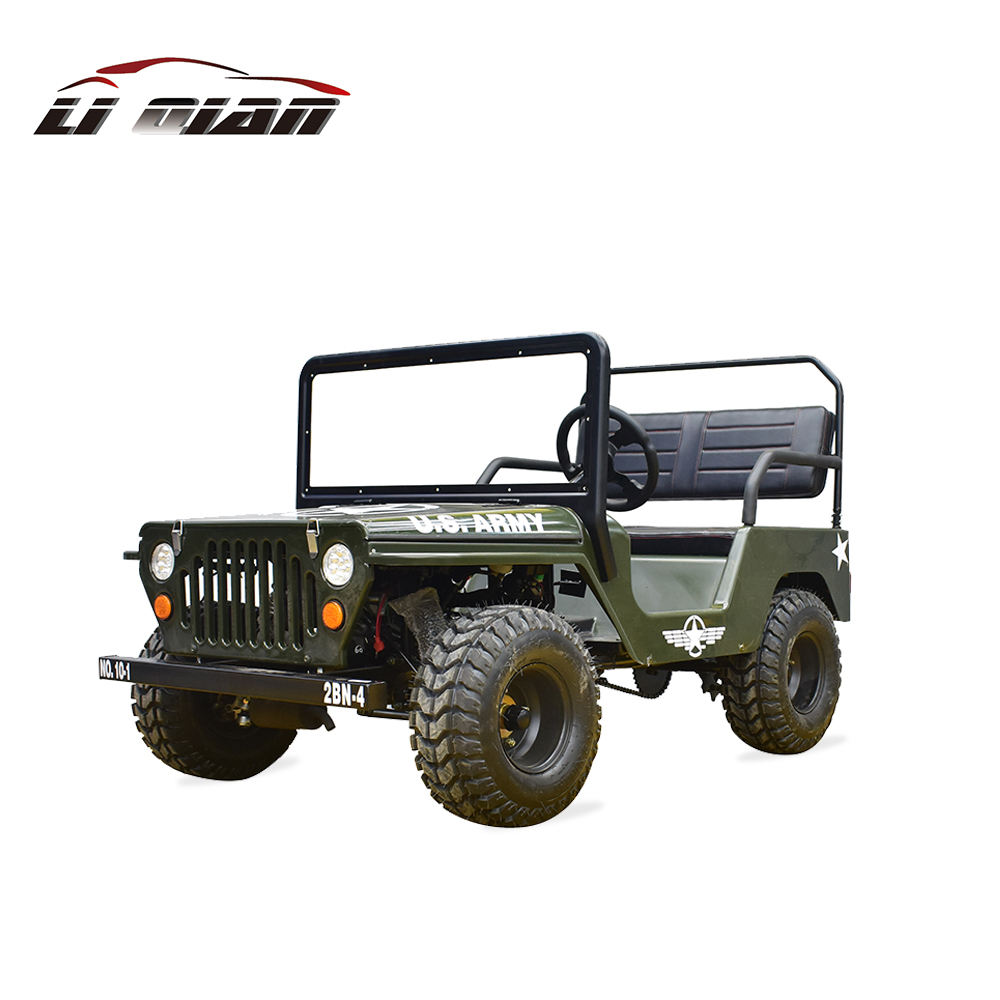110cc /125cc /150cc mini jeep willys atv with CE approved