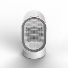 Space Heater 2S Electric Heater Ceramic with Auto Oscillating Hot & Cool Mode, Indoor Mini Desk Personal Heater
