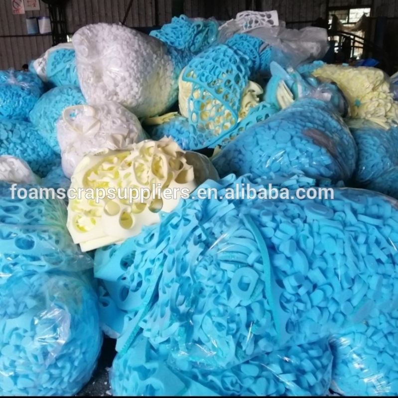 Cheap price Hot product PU Furniture Foam Scrap waste sponge recycling compressed scrap