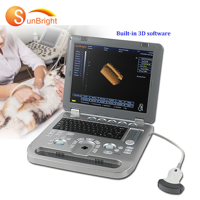 SUN-800D laptop portable animals ultrasound/ Veterinary Ultrasound Machine/Vet Handheld Ultrasound Scanner