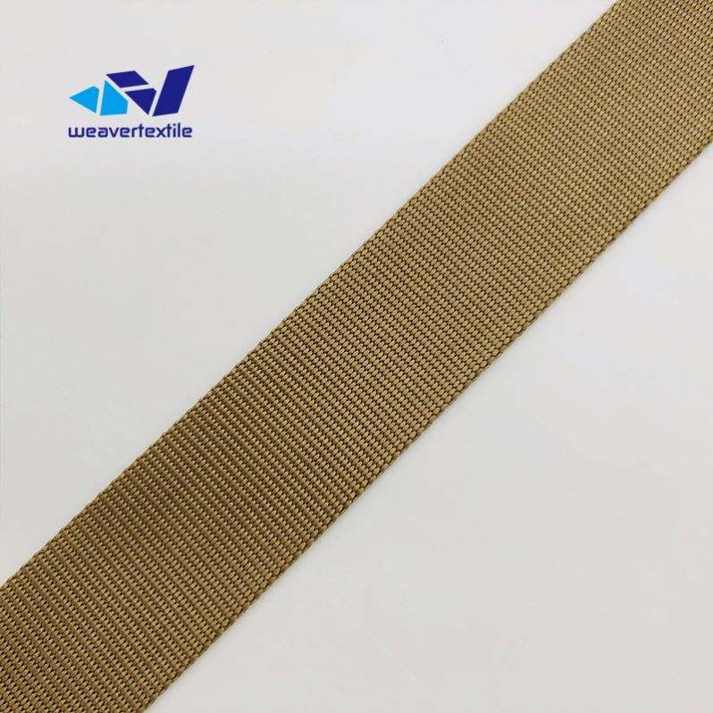 High quality custom webbing strap nylon for bags